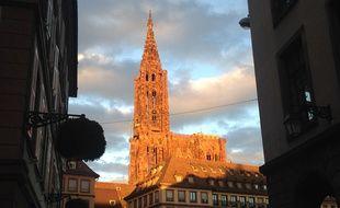 Trois cathédrales de la région Est parmi les plus belles de France selon un classement. (Archives,  cathédrale de Strasbourg).