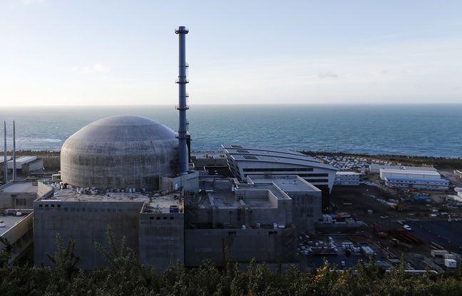 Le réacteur de troisième génération, dit EPR, à Flamanville (Manche) le 16 novembre 2016.