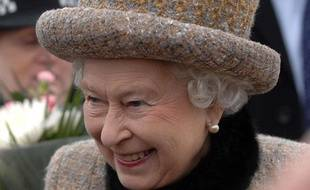La reine Elizabeth II, le 5 février 2012.