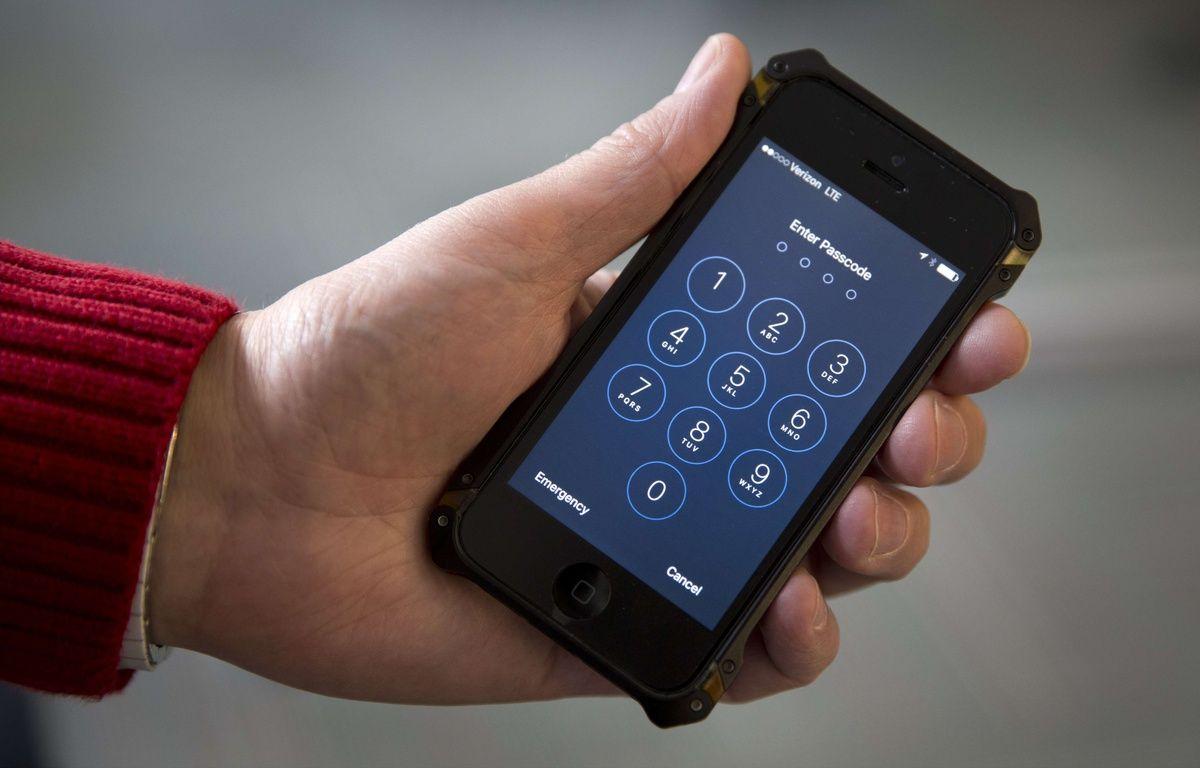 Illustration: un iPhone protégé par un code PIN. – C.KASTER/AP/SIPA