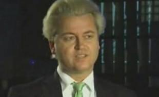 Geert Wilders, député néerlandais d'extrême droite et réalisateur d'un film contre l'Islam et le Coran