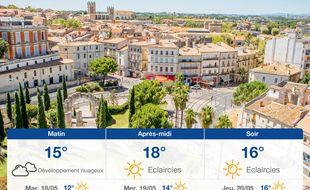 Météo Montpellier: Prévisions du lundi 17 mai 2021