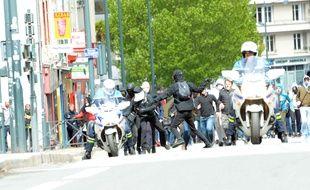 Lors de la manifestation Ni Le Pen, ni Macron du 27 avril à Rennes, un policier avait été agressé par des manifestants.