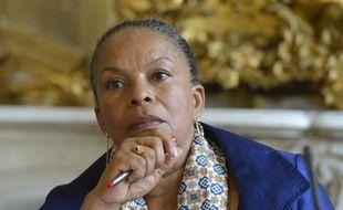 Christiane Taubira, Garde des Sceaux, le 3 juin 2014.