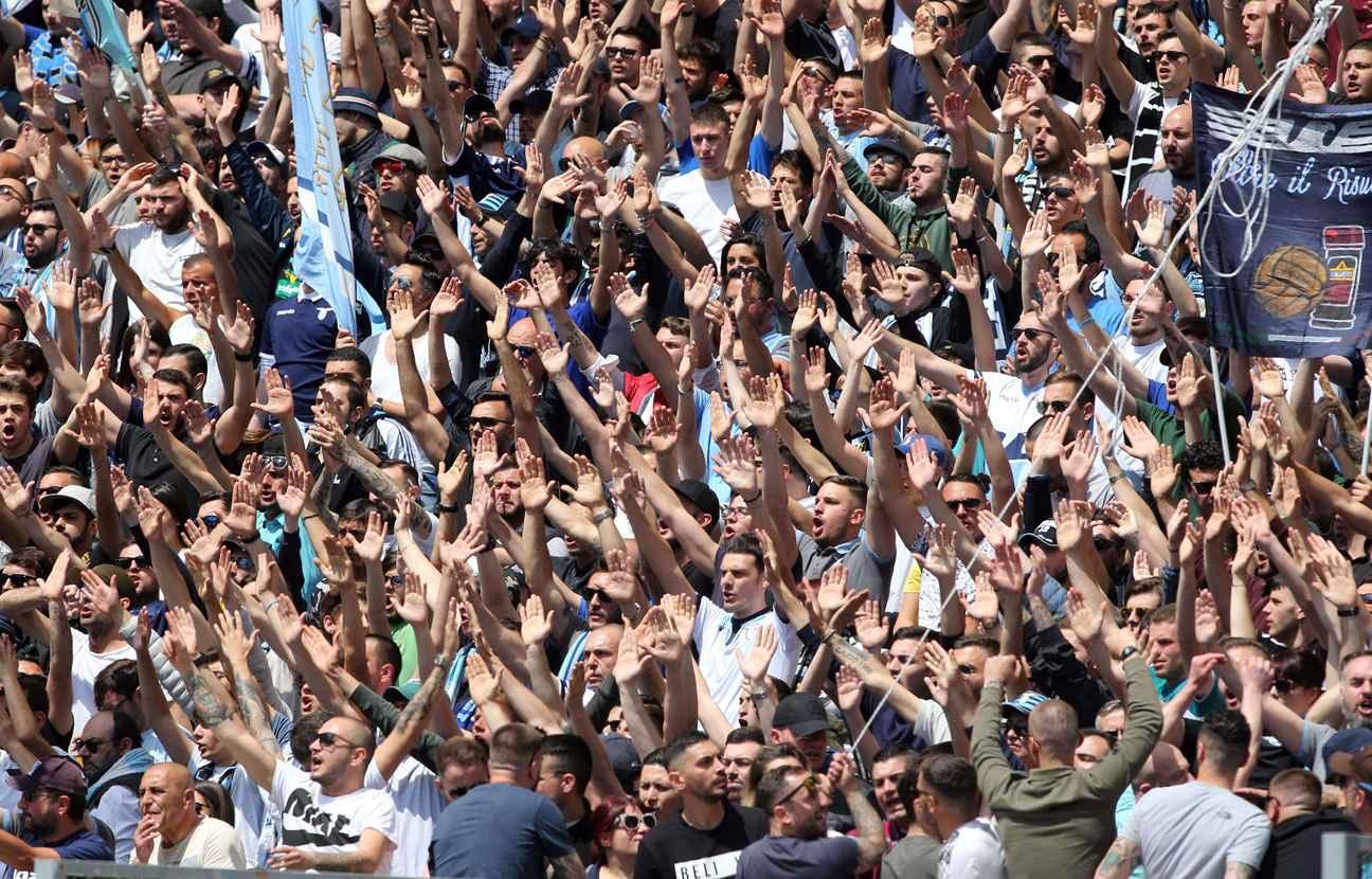 Les supporters de la Lazio revendiquent