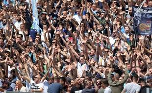 Les supporters de la Lazio.