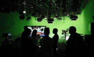 Un studio de la chaîne Russia Today à Moscou (illustration).