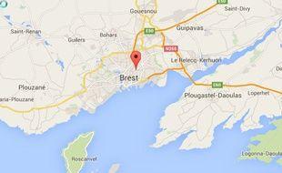 Les faits se sont déroulés vendredi dans un supermarché à Brest.