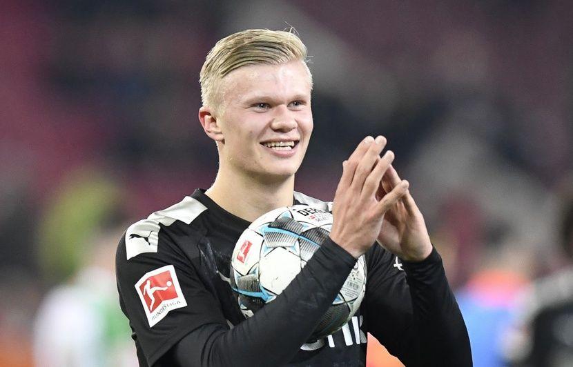 VIDEO. Le phénomène Haaland claque un triplé en 20 minutes pour sa première avec Dortmund