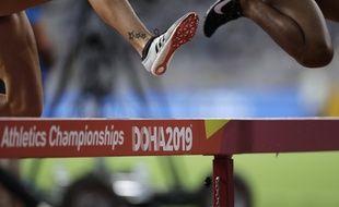 L'épreuve du 3.000 m steeple lors des mondiaux de Doha, au Qatar (illustration).