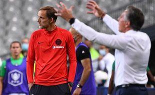 Thomas Tuchel a passé une soirée douce-amer vendredi soir au Stade de France.