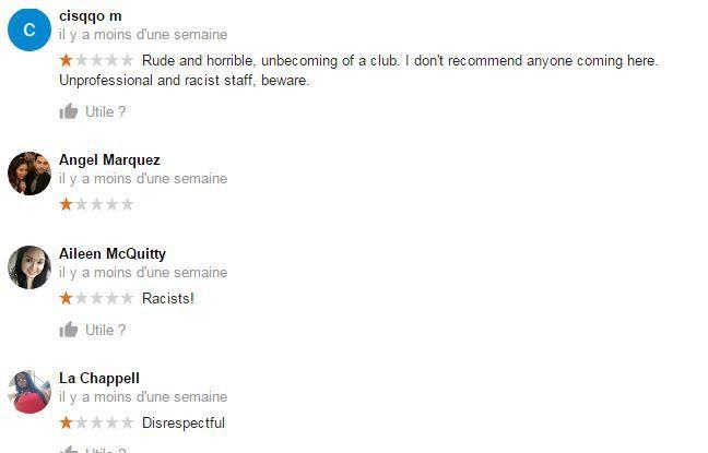 Les fans de Drake innonde de mauvais commentaires la page du Madison Club