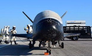 L'avion spatial américain X-37B.