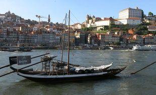 La ville de Porto (Portugal).
