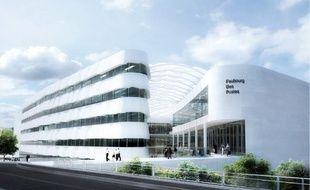 Le futur pôle commercial va se dresser aux portes du Faubourg des Postes, à Lille-Sud.