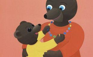 Extrait de «Petit Ours Brun» aime sa maman.