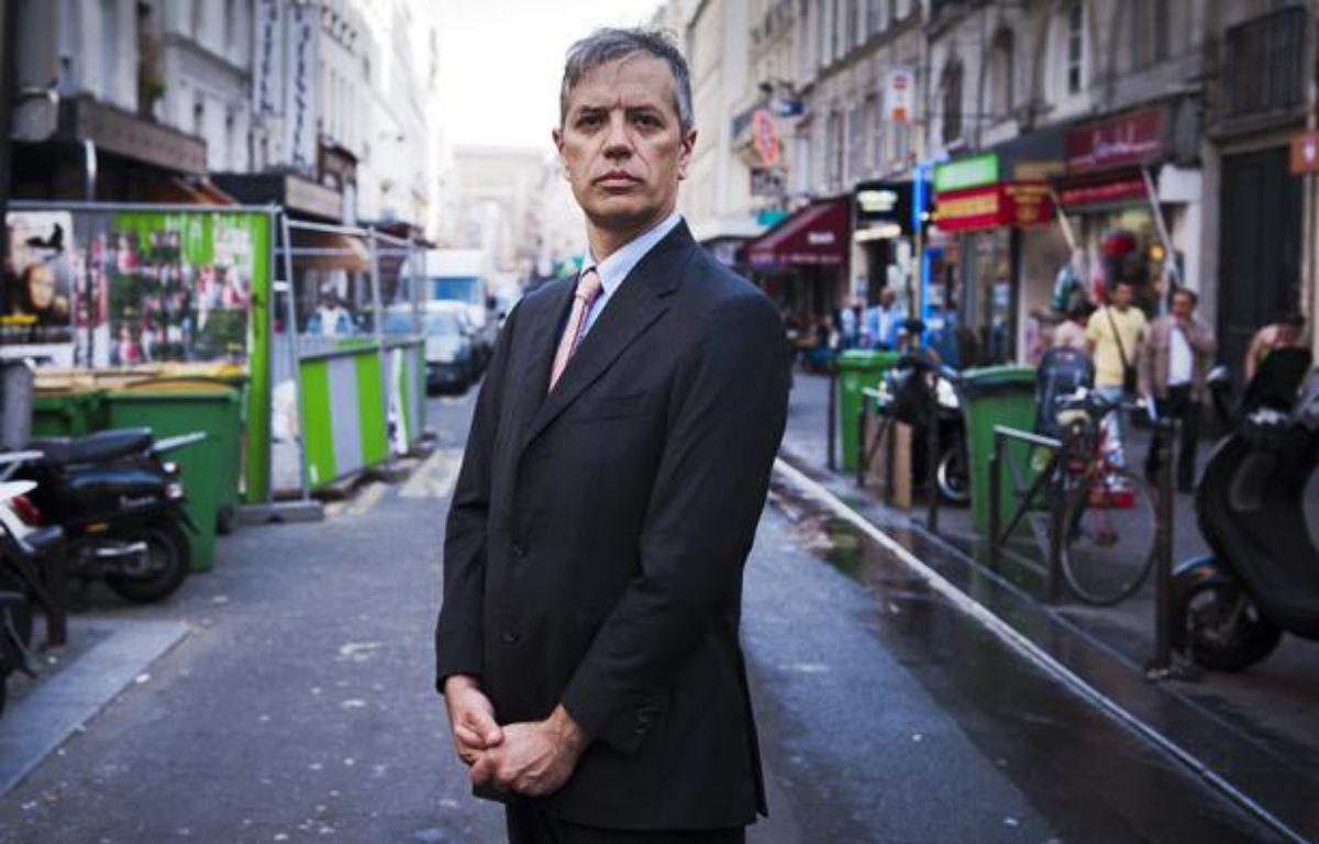 Gaspard Delanoë, candidat aux élections législatives 2012 à Paris. – V. WARTNER / 20 MINUTES
