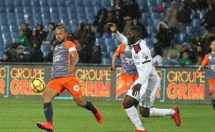 Vitorino Hilton et le MHSC ont livré une performance très solide contre Guingamp.