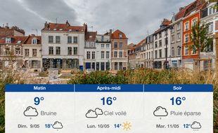 Météo Lille: Prévisions du samedi 8 mai 2021