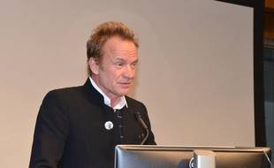 Le chanteur Sting au Smithsonian National Museum Of American History de Washington