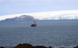 Une baie de l'Île du Roi-George en Antarctique, le 16 janvier 2020.