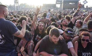 Une foule déchaînée au Hellfest, en 2019, quand tout était possible.