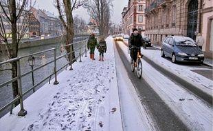 L'épisode neigeux de cet automne 2010 a commencé par toucher l'est de la France.