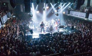 Arcade Fire en concert à Londres le 4 juillet 2017
