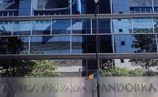 Siège de la Banca Privada d'Andorra (BPA) le 10 septembre 2013 à Andorre-la-Vieille