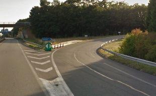 L'échangeur entre l'A1 et l'A26.