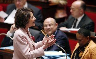 Marisol Touraine, ministre de la Santé à l'Assemblée nationale le 4 juin 2014.
