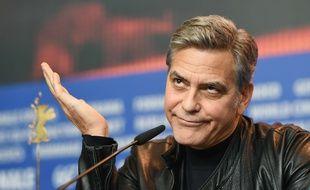 George Clooney à Berlin le 11 février 2016