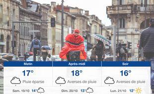 Météo Bordeaux: Prévisions du vendredi 18 octobre 2019