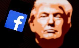 Facebook a six mois à partir du 5 mai 2021 pour décider de l'avenir du compte de Donald Trump, qui reste suspendu dans l'immédiat.