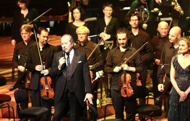 Christian Morin, lors du concert de Noël de Radio Classique, à l'auditorium de Bordeaux, le 20 décembre 2019.