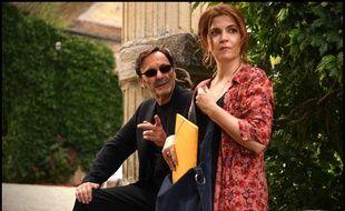 Jean-Pierre Bacri et Agnès Jaoui dans Place Publique