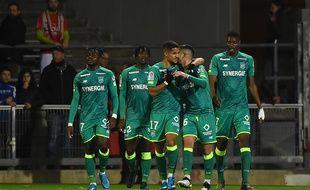 Le FCN a gagné face à Nîmes grâce à un but d'Imran Louza