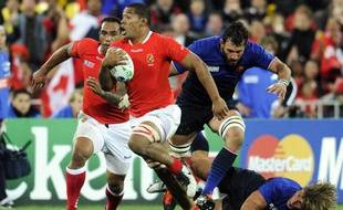 France - Tonga, le 1er octobre 2011 à Wellington.
