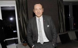 Kevin Spacey, le 16 décembre 2010, lors d'une «after-party» à New-York, pendant la promotion de Casino Jack.