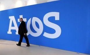 Le logo du groupe Atos, qui va racheter Bull
