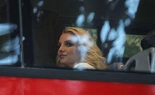 Britney Spears à Londres le 15 octobre 2013