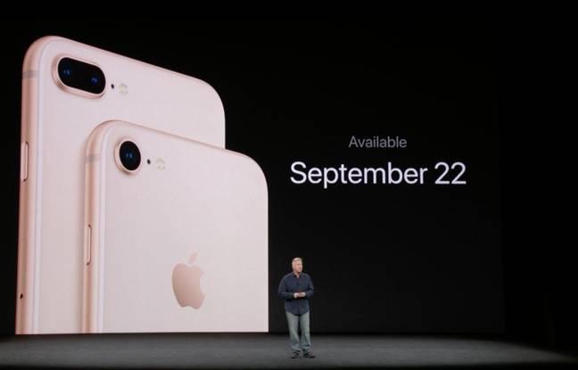Les iPhone 8 et 8 Plus disponibles dès le 22 septembre.