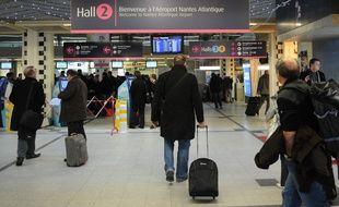 L'aéroport de Nantes-Atlantique, ici le hall 2.