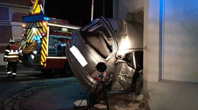 Valenciennes: Un mineur encastre une voiture dans une maison