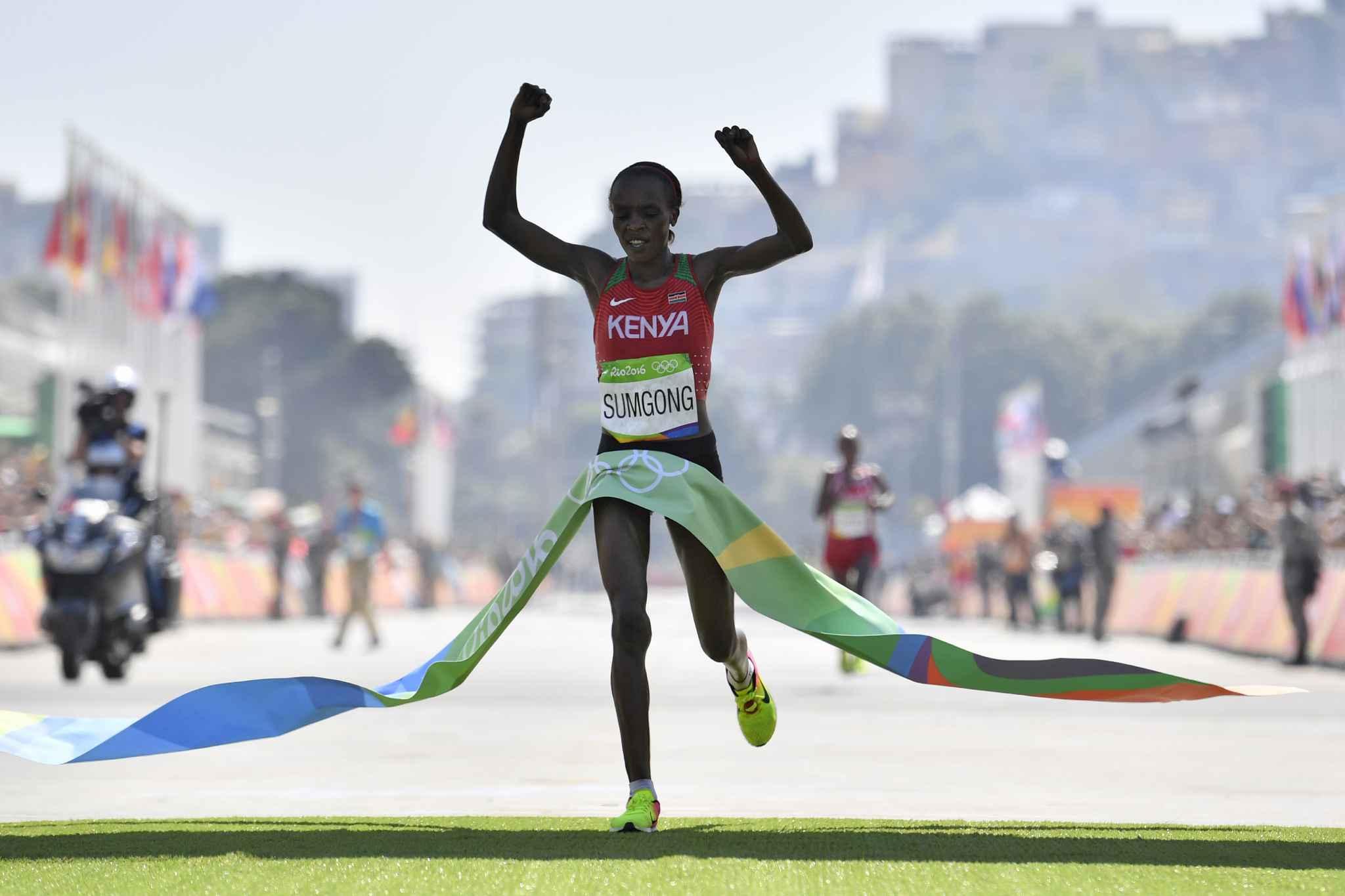 Marathon: La championne olympique de Rio contrôlée positive à l'EPO