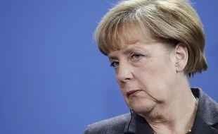 Angela Merkel, le 3 décembre 2014, à Berlin.