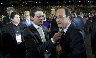 Principales réactions au discours du candidat socialiste à l'élection présidentielle, François Hollande: