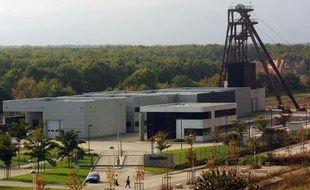 Le centre souterrain de stockage de déchets ultimes Stocamine à Wittelsheim le 21 septembre 2002, au lendemain de la fin d'un incendie qui a couvé pendant 11 jours dans ce site