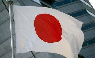 Un drapeau japonais (Illustration)