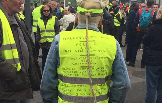 Les Gilets Jaunes étaient présents au défilé du 1er mai à Lille